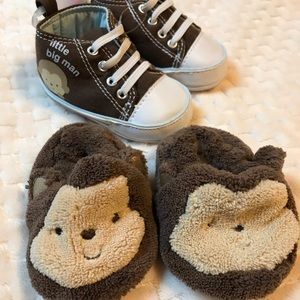 Newborn slippers and shoes